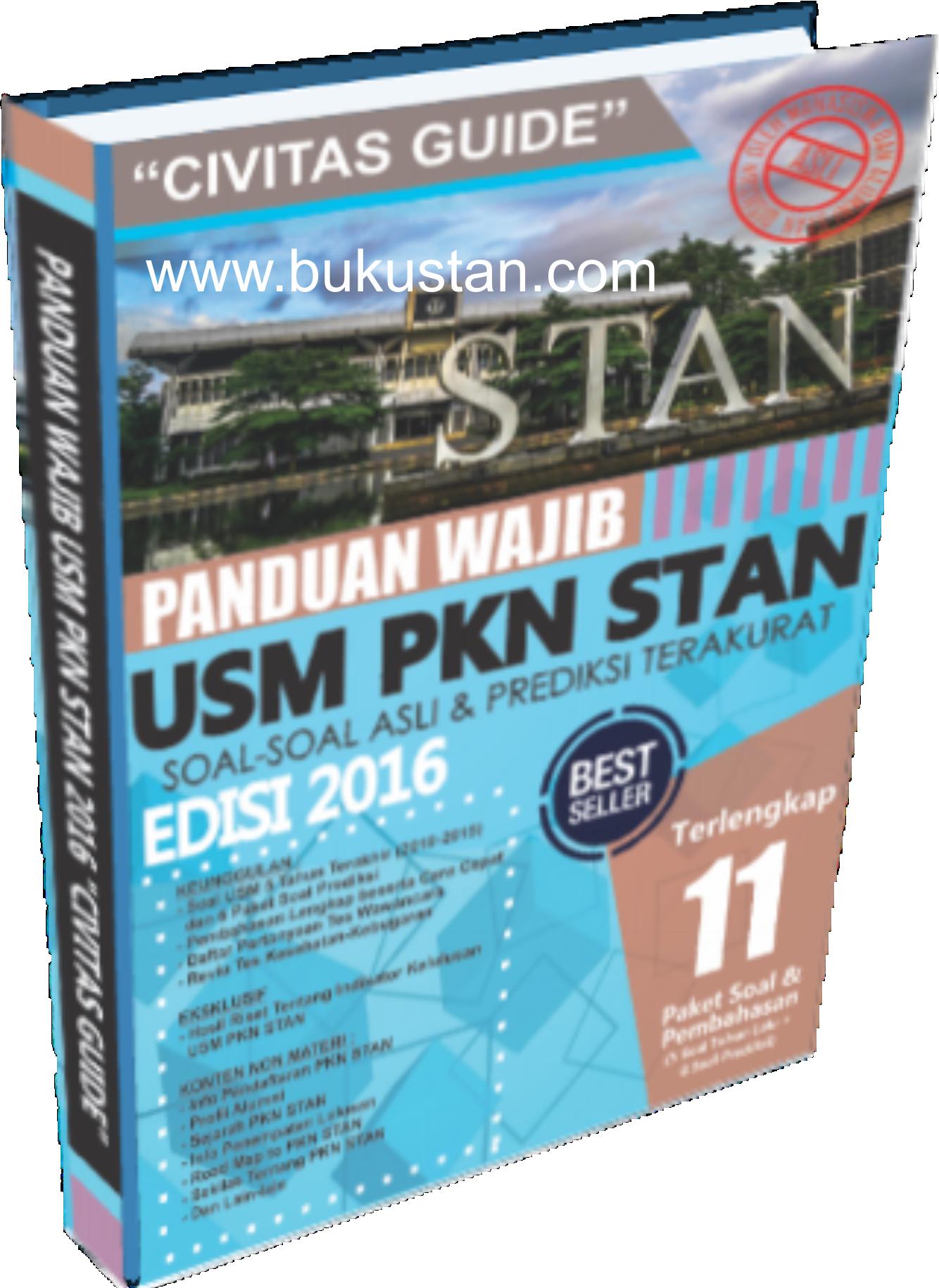 Buku Usm Pkn Stan 2016
